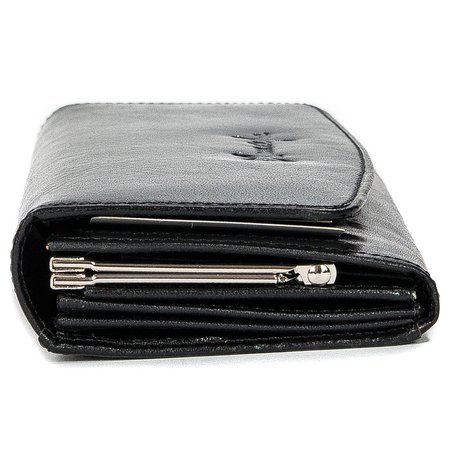 Maciejka 8137 Black Wallets