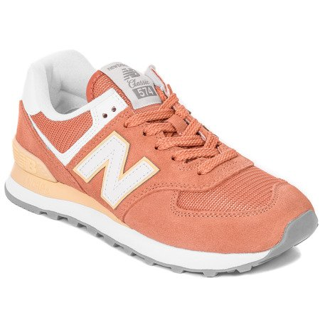 New Balance WL574ESF Orange Sneakers