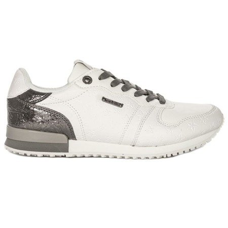 Pepe Jeans PLS30725-800 White Sneakers
