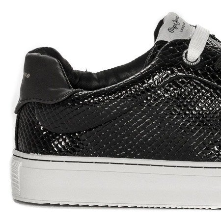 Pepe Jeans PLS30751 999 Black Sneakers