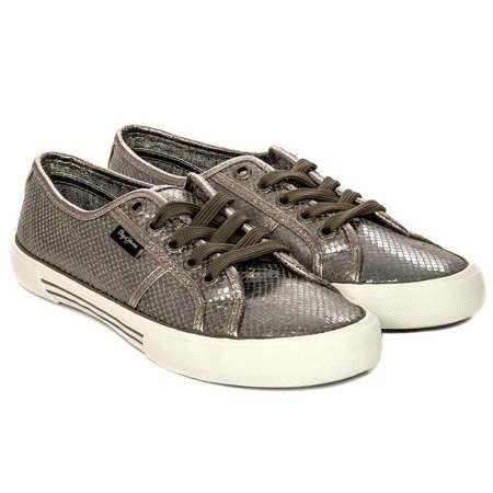 Pepe Jeans PLS30757-952 Metallic Trainers