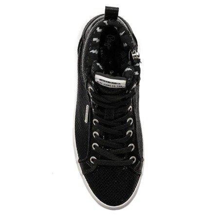 Pepe Jeans PLS30770 999 Black Trainers