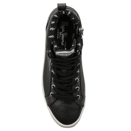Pepe Jeans PLS30771 999 Black Trainers