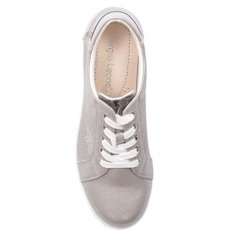 Sergio Leone SP235 Beige Flat Shoes