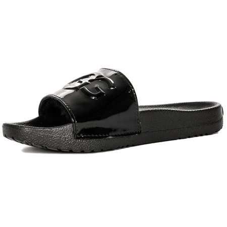 UGG  1101189 Royale Graphic Metallic  Black  Slides