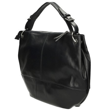 Venezia CIN 79-09-Q SAV NERO Black Totes Bag
