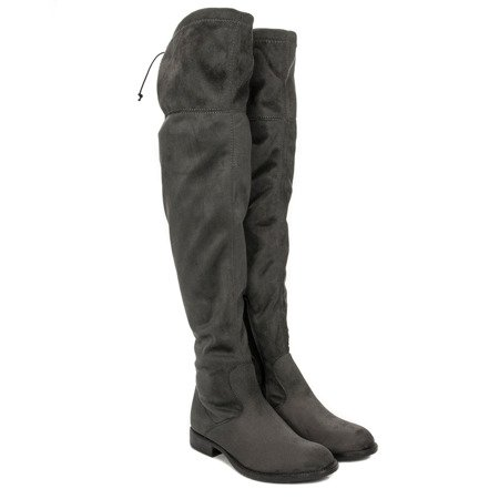 Venezia MANIA 8955 GJ8 Gray Knee-High Boots