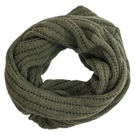 Venezia Unisono Sis 117-5665SC Milit Green Shawls and scarves