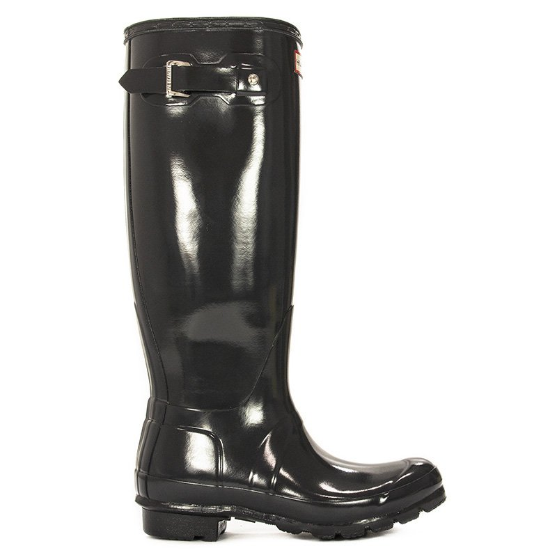 ed9701bb0 ... Kalosze Hunter Womens Org Tall Gloss WFT1000 RGL Dark Slate Ciemnoszare  ...
