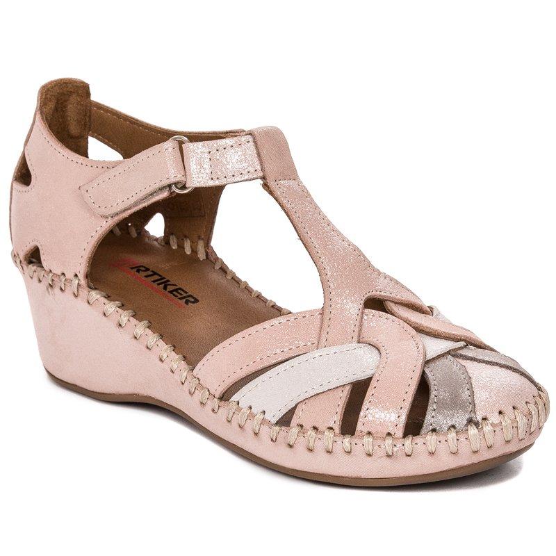 6ce044db21206 Sandały Artiker 44C414 Pink Różowe · Sandały Artiker 44C414 Pink Różowe ...