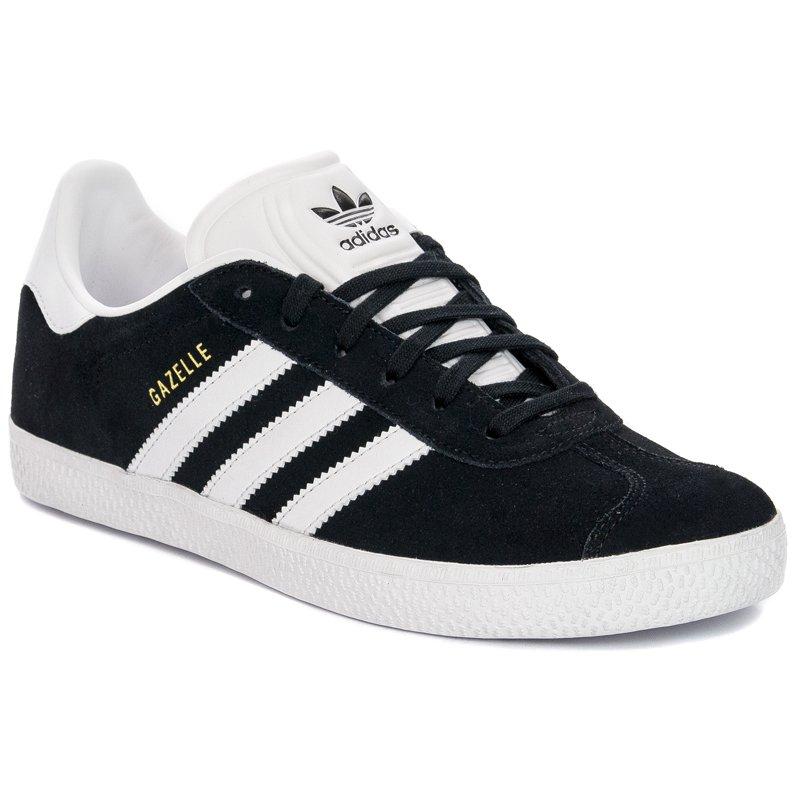 Sneakersy Adidas Gazelle J BB2502 Czarno Białe