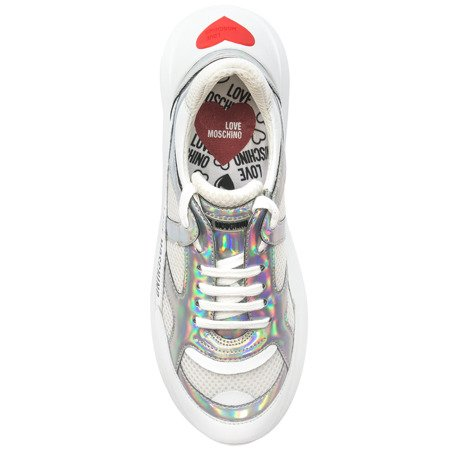Sneakersy Love Moschino JA15286G07JX3 10A WHITE