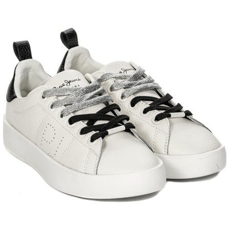Sneakersy Pepe Jeans PLS30778-800 White