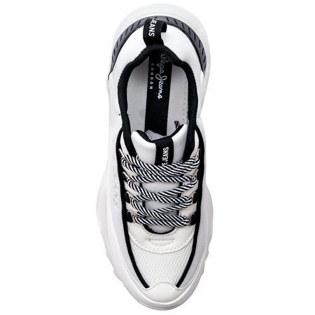 Sneakersy Pepe Jeans PLS31002 800 White