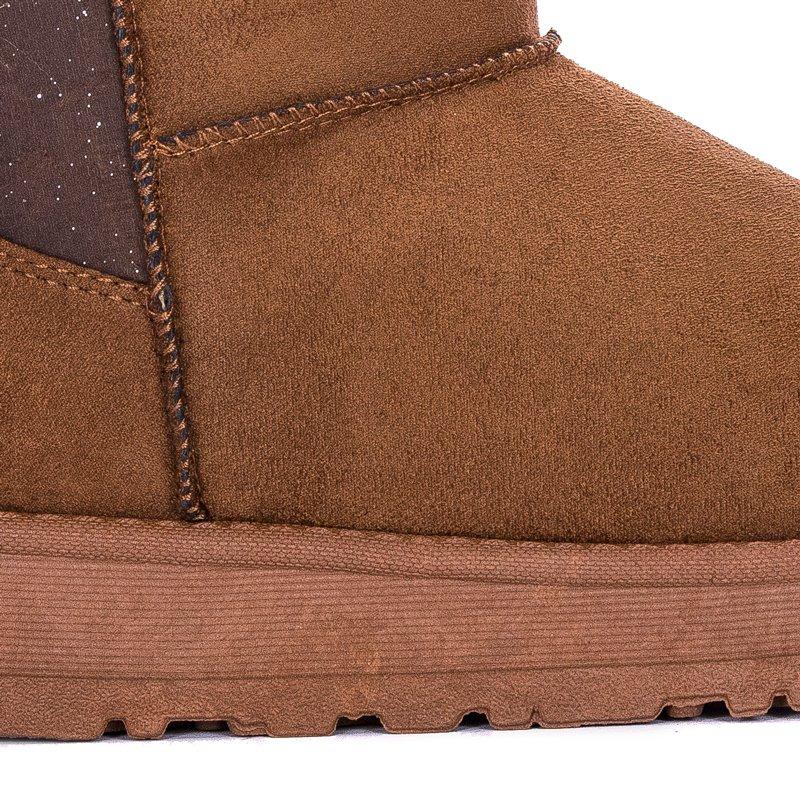 buy online 510f7 5a12d Big Star EE274414 Camel Boots