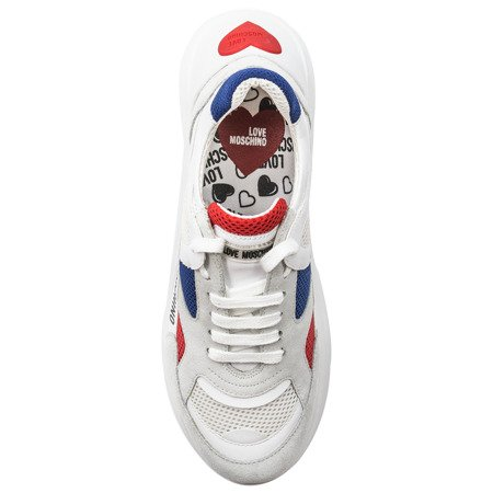 Love Moschino JA15306G1810A White Sneakers